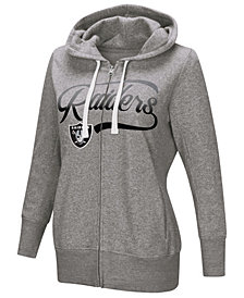 Touch by Alyssa Milano Women's Oakland Raiders Touch Glitter Hoodie