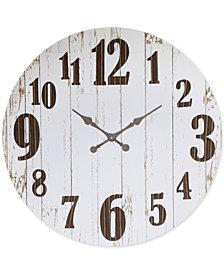 3R Studio Round MDF & Metal Clock