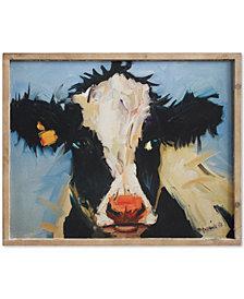 3R Studio Cow Wall Plaque