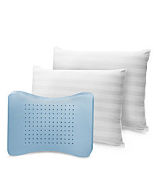 SensorPedic 2 Pack MemoryLoft Classic Cotton Queen Pillow