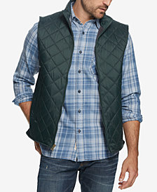 Weatherproof Vintage Men's Quilted Full-Zip Vest, Created for Macy's