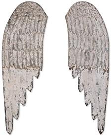 Wood Angel Wings, Set of 2
