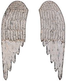 Wood Angel Wings, Set of 2
