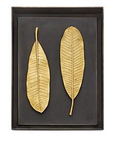 CLOSEOUT! Champa Leaf Shadow Box