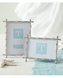 Set of 2 Bamboo Photo Frames Includes 2 Sizes