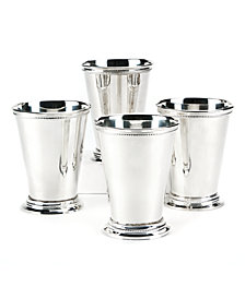 Set of 4 Mint Julep Vase in Gift Box