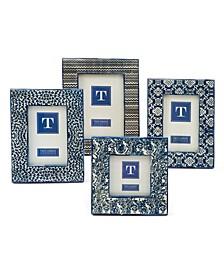 Batik Print Frames, Set of 4