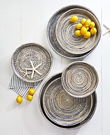 Woven Trays, Set of 6