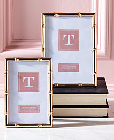 Gold Gallery Set of 2 Rose Gold Photo Frames Includes 2 Sizes