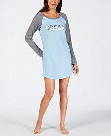 Jenni Graphic-Print Sleepshirt, Created for Macy's