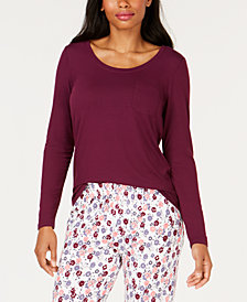 Charter Club Scoop-Neck Pajama Top, Created for Macy's