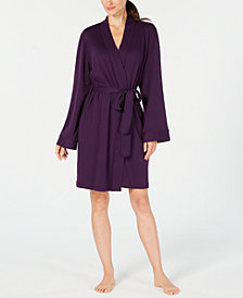 Charter Club Short Super-Soft Wrap Robe, Created for Macy's
