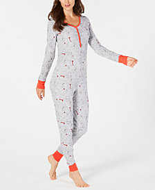 Jenni Thermal Printed Jumpsuit, Created for Macy's