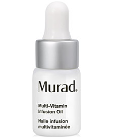 Receive a FREE deluxe Multi-Vitamin Infusion Oil with any Murad purchase!