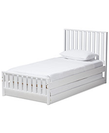 Harlan Twin Trundle Bed, Quick Ship