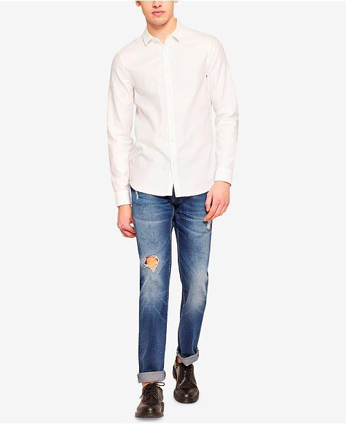 A|X Armani Exchange Men's Slim-Fit Destructed Jeans