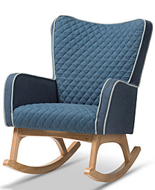 Zoelle Rocking Chair, Quick Ship