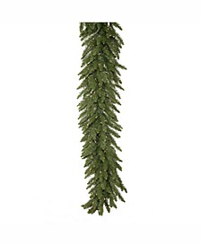 50' Camdon Fir Artificial Christmas Garland with 400 Clear Lights