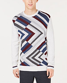 Alfani Men's Road Map Style Sweater, Created for Macy's