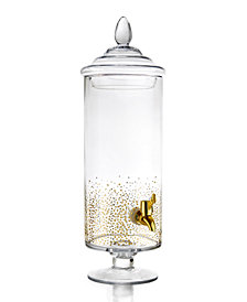 Jay Imports Luster Gold 145-Oz. Beverage Dispenser