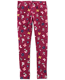 Carter's Little & Big Girls Floral Leggings