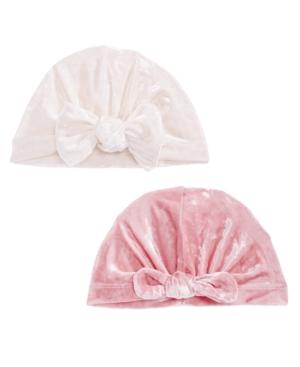 First Impressions Baby Girls 2Pk Velvet Turban Headbands Created for Macys
