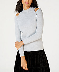 MICHAEL Michael Kors Cold-Shoulder Sweater