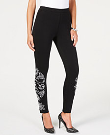 MICHAEL Michael Kors Embellished Leggings