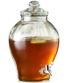 Jay Imports Sanford 1.6-Gallon Glass Beverage Dispenser