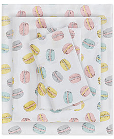 Urban Dreams Minette Full 4-Pc. Cotton Sheet Set, Created for Macy's