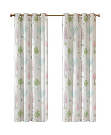 "Urban Dreams Verona 50"" x 84"" Total Blackout Grommet Window Panel Pair, Created for Macy's"