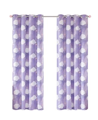 """Liliana 50"""" x 84"""" Total Blackout Grommet Window Panel Pair, Created for Macy's"""