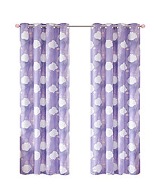 "Urban Dreams Liliana 50"" x 84"" Total Blackout Grommet Window Panel Pair, Created for Macy's"