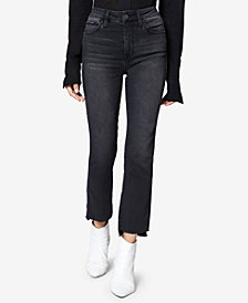 Sanctuary Cropped Step-Hem Jeans