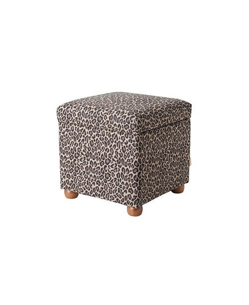 Jennifer Taylor Home Jacob Footstool