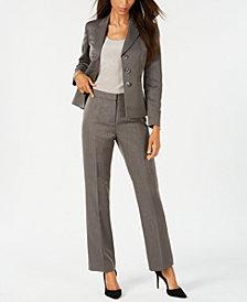 Le Suit Three-Button Pantsuit