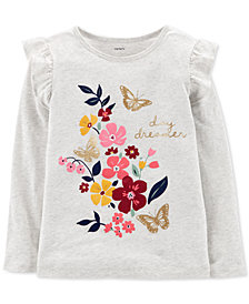 Carter's Little & Big Girls Graphic-Print Cotton T-Shirt