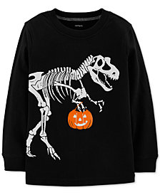 Carter's Toddler Boys Dino Skeleton Graphic Cotton Shirt