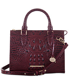 Brahmin Melbourne Anywhere Satchel, Created for Macy's