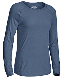 EMS® Women's Solid Organic Slub Long-Sleeve Tee