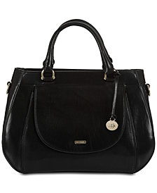 Brahmin Raelynn Honey Satchel