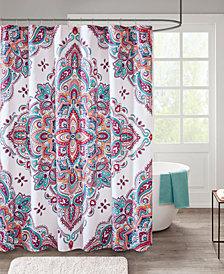 "510 Design Amari 72"" x 72"" Printed Shower Curtain"