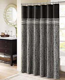 "Madison Park Barton 72"" x 72"" Shower Curtain"