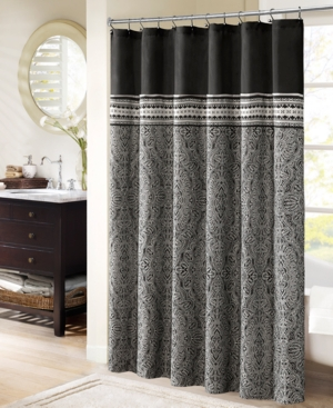French Style Shower Curtains Add Stylish Texture And Color