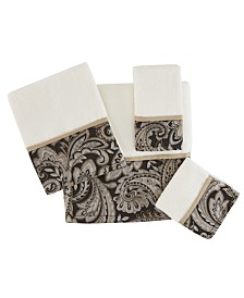 Madison Park Aubrey 6-Pc Jacquard Towel Set