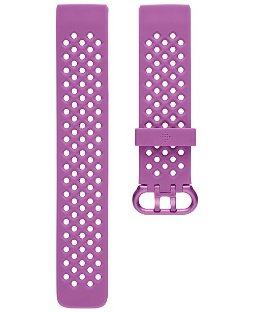 Fitbit Charge 3 Berry Silicone Band