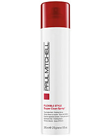 Paul Mitchell Super Clean Medium Hold Finishing Spray, 10-oz., from PUREBEAUTY Salon & Spa
