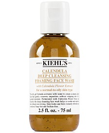 Kiehl's Since 1851 Calendula Deep Cleansing Foaming Face Wash, 2.5 fl. oz.