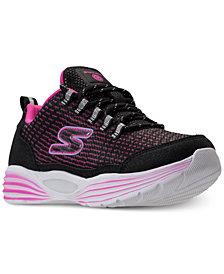 Skechers Little Girls' S Lights: Luminators Light-Up Athletic Sneakers from Finish Line