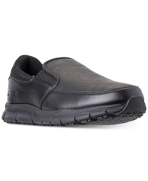 Skechers Men's Nampa Groton Wide Width Casual Sneakers from